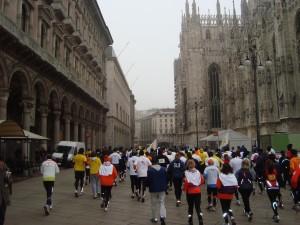 Di Corsa in Piazza del Duomo
