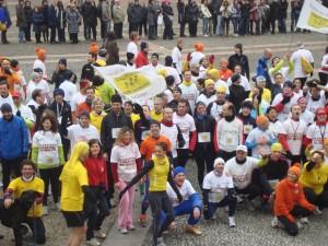 Tutti davanti a Palazzo Reale