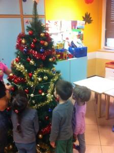 albero di natale per i bambini malati