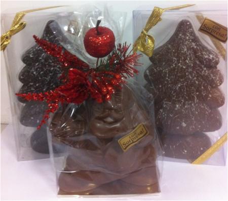 regali di Natale in cioccolato