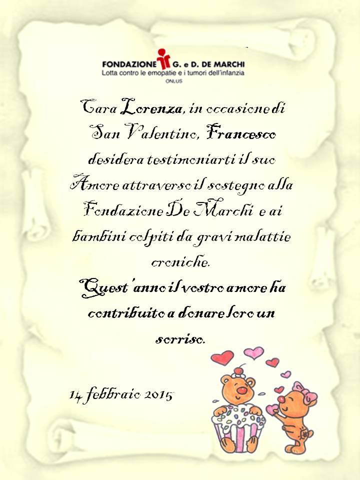 pergamena di san valentino