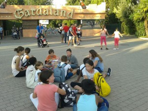 Gardaland con i bambini malati