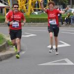 momenti della Milano Maraton con i nostri corridori
