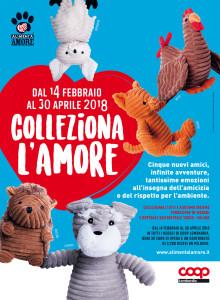 colleziona l'amore nei supermercati Coop Lombardia