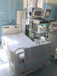 letto donato alla terapia intensiva