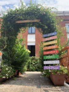 ingresso giardino delle meraviglie
